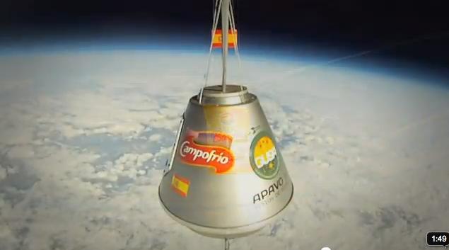 La Apavo XII alcanzó la estratosfera