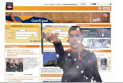 Campaña online para el lanzamiento del nuevo Portal Guía Repsol (antes Guía Campsa)