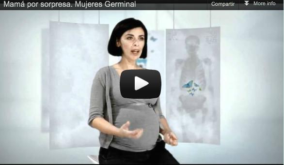 Website y vídeos de lanzamiento para el rejuvenecimiento digital de la marca de productos cosméticos Germinal