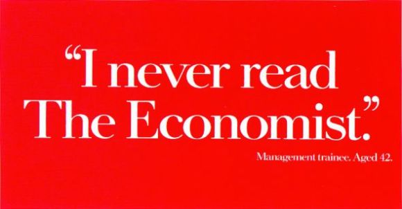I never read The Economist by David Abbot and Ron Brown