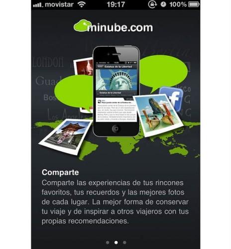 Intro a la nueva y revolucionaria app de @minube