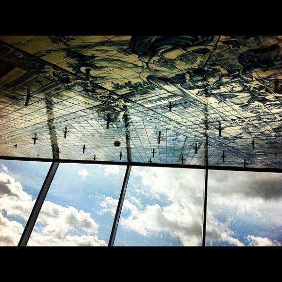 Reflejos en la Casa da Musica en Oporto (Portugal) - Arquitectura