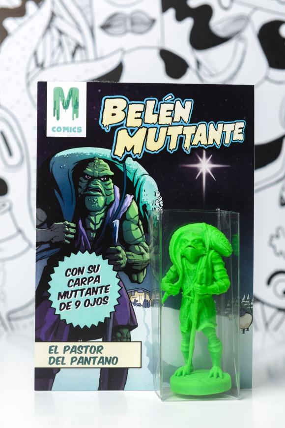 El pastor del Pantano, nuestra figurita de Belén Mutante.
